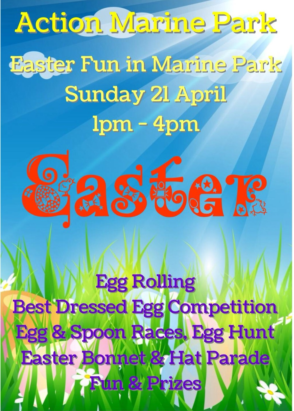 easter fun at marine park