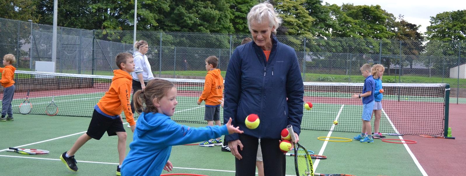 Marine Park Tennis Club Lossiemouth