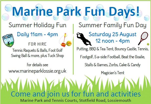 Summer Fun at Marine Park Lossie