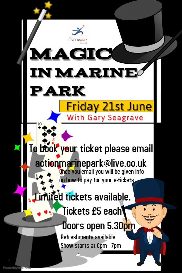 Magician at Marine Park