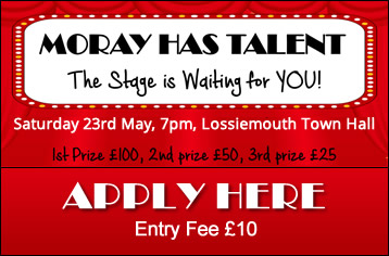 Apply for Moray Has Talent