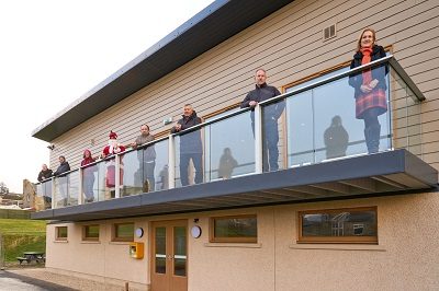 New Pavillion, Marine Park, Stotfield Road, Lossiemouth, Moray, Scotland, UK.