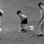 Old photo of Putting at Marine Park Lossiemouth